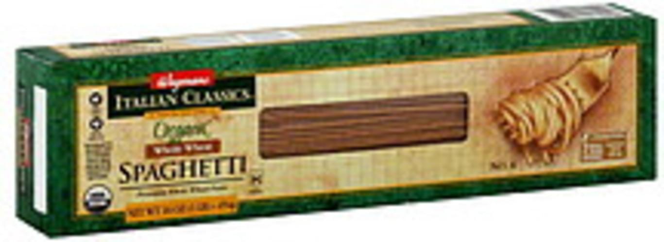Wegmans Organic, Whole Wheat, No. 4 Spaghetti - 16 oz