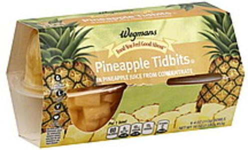 Wegmans Pineapple Tidbits