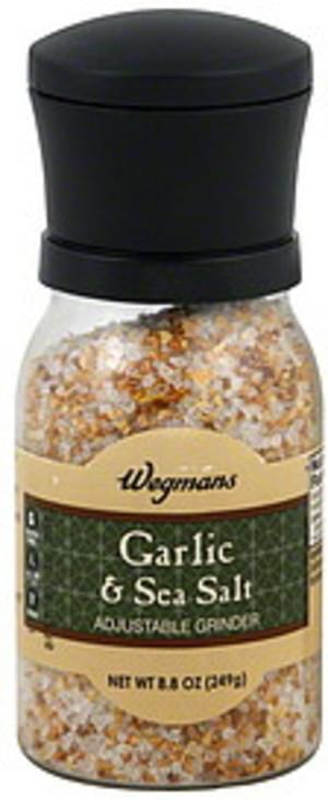 Wegmans Adjustable Grinder Garlic & Sea Salt - 8.8 oz