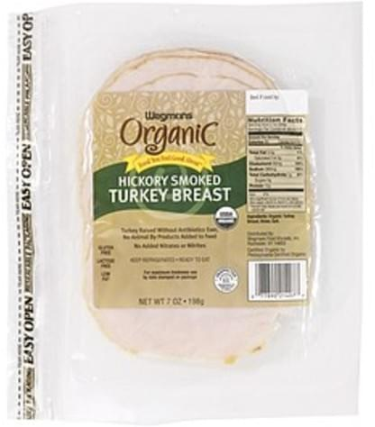 Wegmans Hickory Smoked Turkey Breast Poultry - 7 oz