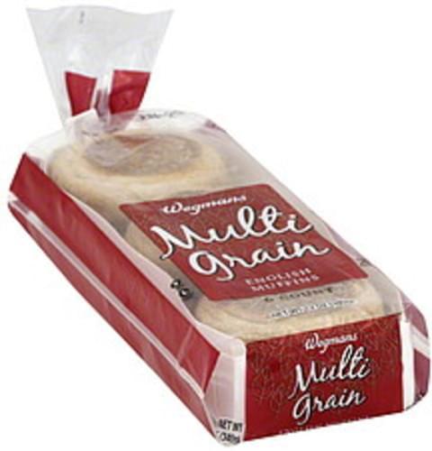 Wegmans Multi Grain English Muffins - 6 ea