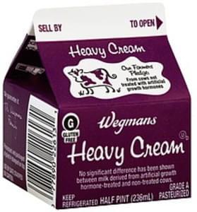 Wegmans Heavy Cream