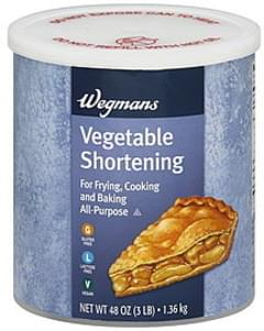 Wegmans Vegetable Shortening
