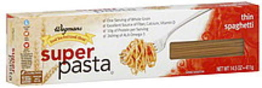 Wegmans Thin Spaghetti Super Pasta