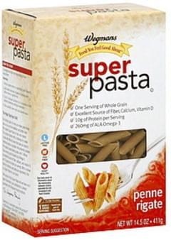Wegmans Penne Rigati Super Pasta