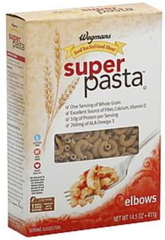 Wegmans Elbows Super Pasta