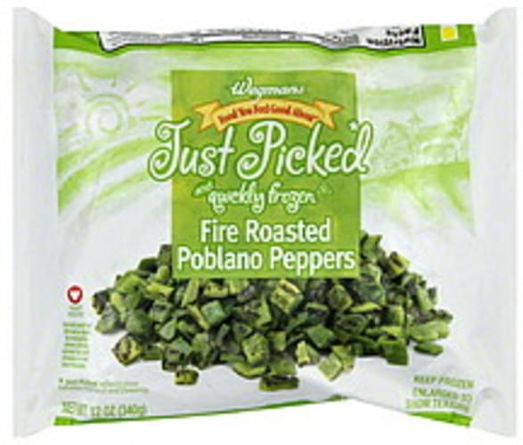 Wegmans Fire Roasted Poblano Peppers - 12 oz