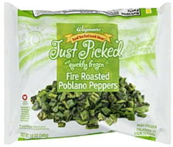 Wegmans Peppers Fire Roasted Poblano