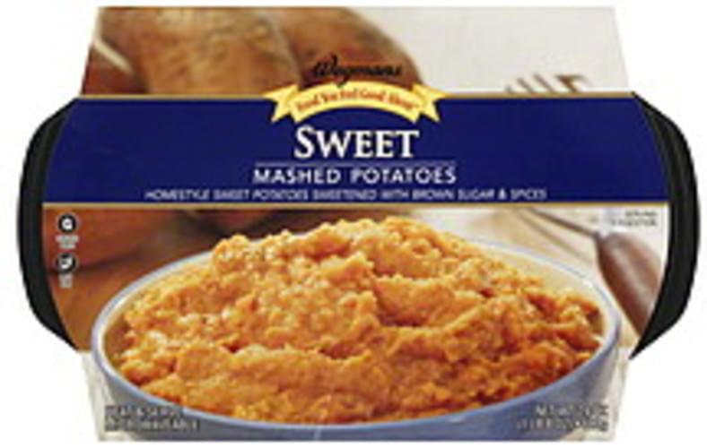 Wegmans Sweet Mashed Potatoes - 24 oz