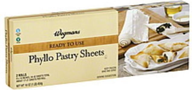 Wegmans Pastry Sheets Phyllo