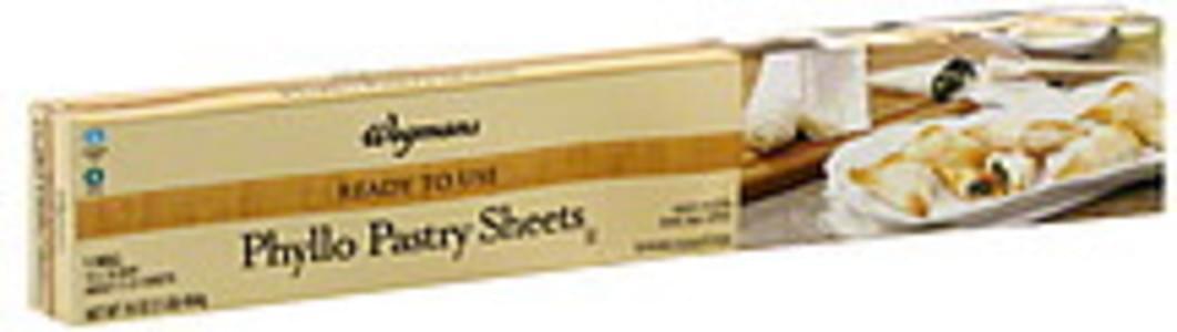 Wegmans Pastry Sheets Phyllo, Ready to Use