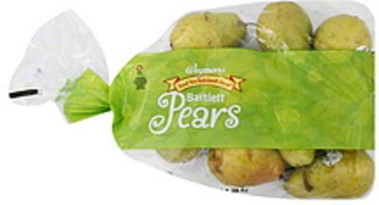 Wegmans Pears Bartlett