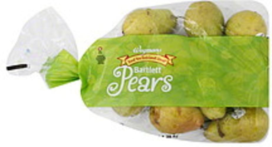 Wegmans Bartlett Pears - 48 oz