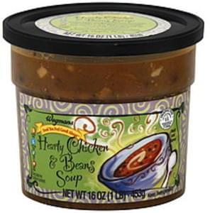 Wegmans Soup Hearty Chicken & Beans