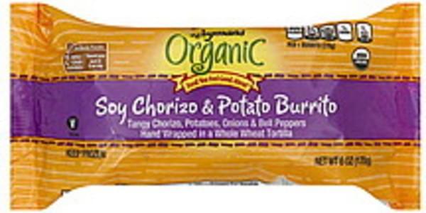 Wegmans Burrito Soy Chorizo & Potato