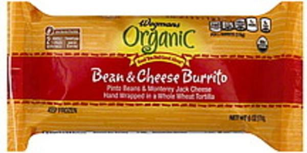 Wegmans Burrito Bean & Cheese