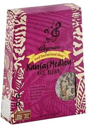 Wegmans Kansas Medley Rice Blend - 8 oz
