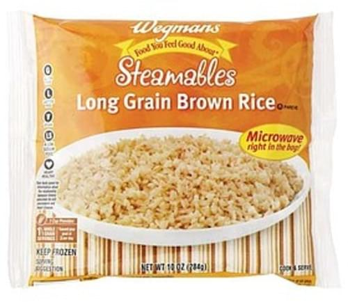 Wegmans Long Grain Brown Rice Rice & Other Grains - 10 oz