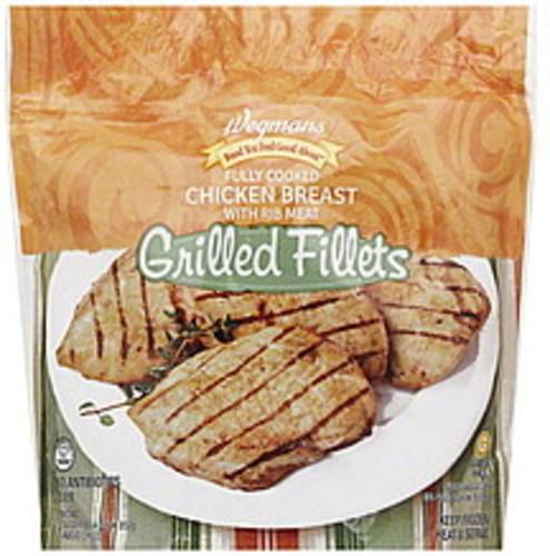 Wegmans Grilled Chicken Breast Fillets - 30 oz