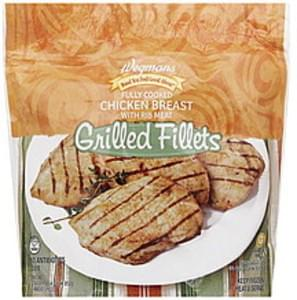 Wegmans Chicken Breast Fillets Grilled