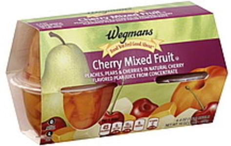 Wegmans Mixed Fruit Cherry