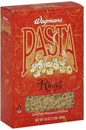 Wegmans Rings Pasta - 16 oz