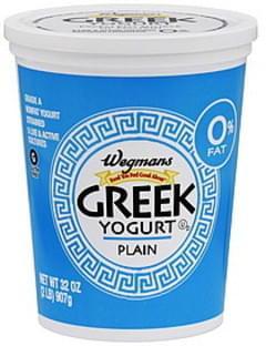 Wegmans Yogurt Greek, Plain