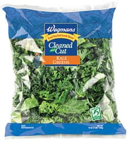 Wegmans Fresh Vegetables Cleaned and Cut Kale Greens