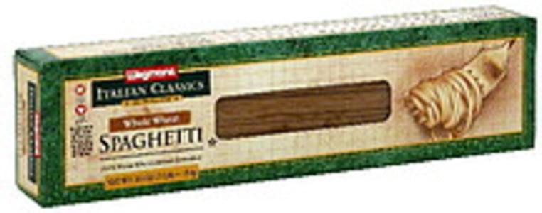 Wegmans Spaghetti Whole Wheat