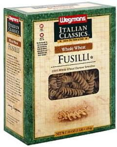 Wegmans Fusilli Whole Wheat