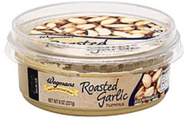 Wegmans Roasted Garlic Hummus - 8 oz