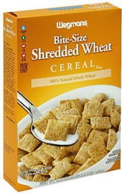 Wegmans Cereal Bite Size Shredded Wheat