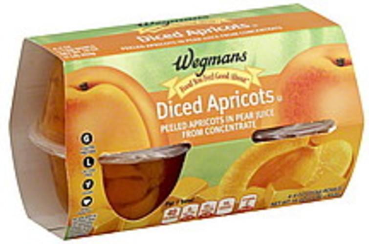 Wegmans Diced Apricots - 4 ea
