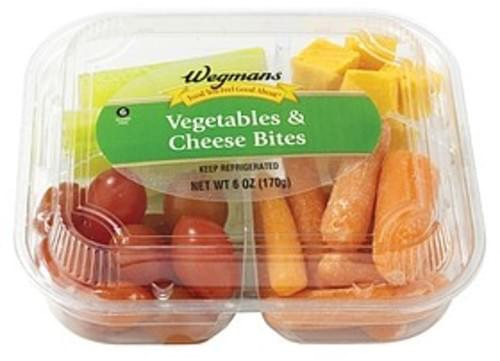 Wegmans Food You Feel Good About Vegetables & Cheese Bites Vegetables & Cheese Bites - 6 oz