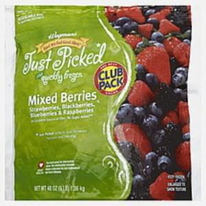 Wegmans Mixed Berries Club Pack