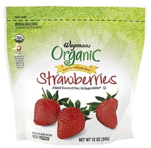 Wegmans Strawberries Fresh Fruit - 12 oz