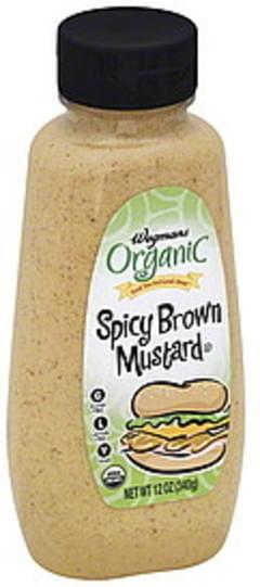 Wegmans Mustard Spicy Brown