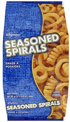 Wegmans Potatoes Seasoned Spirals