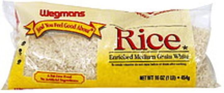 Wegmans Rice Enriched Medium Grain White