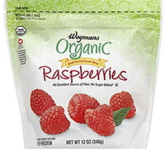 Wegmans Organic Raspberries - 12 oz