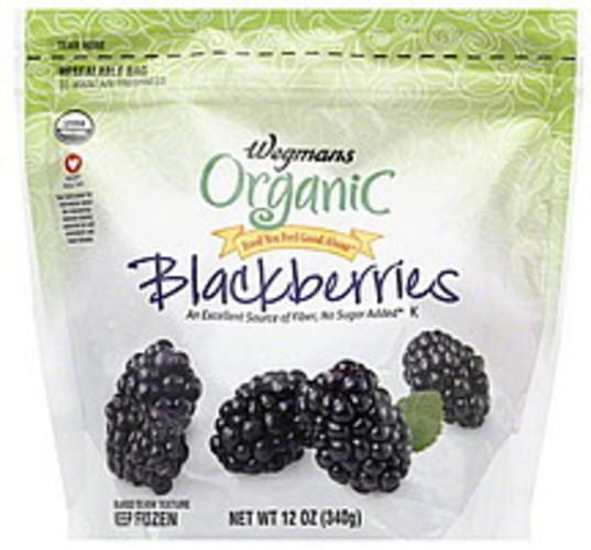 Wegmans Organic Blackberries - 12 oz