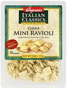 Wegmans Ravioli Mini, Cheese