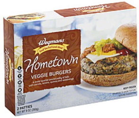 Wegmans Hometown Veggie Burgers - 2 ea