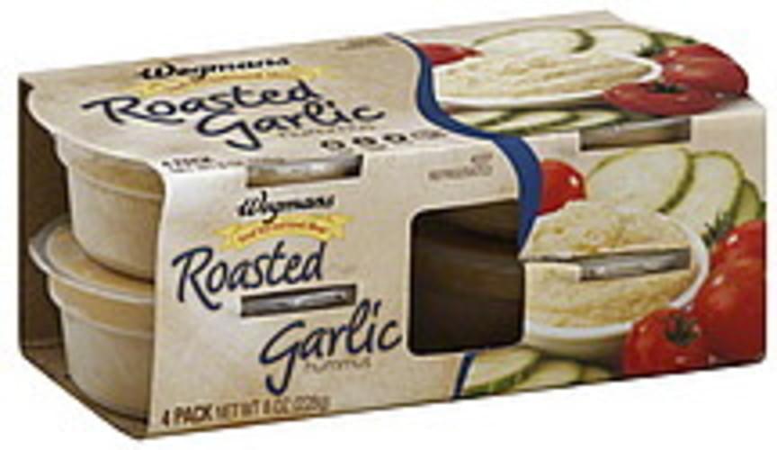 Wegmans Roasted Garlic Hummus - 4 ea