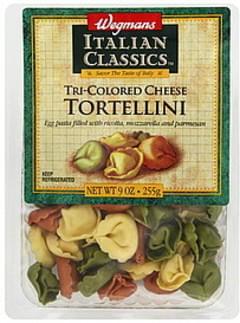 Wegmans Tortellini Tri-Colored Cheese