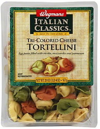 Wegmans Tri-Colored Cheese Tortellini - 20 oz