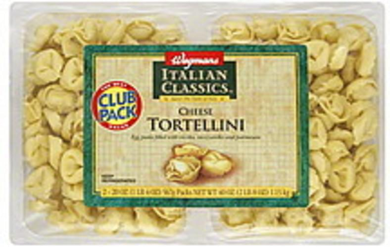 Wegmans Cheese, Club Pack Tortellini - 2 ea