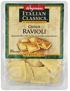 Wegmans Ravioli Cheese