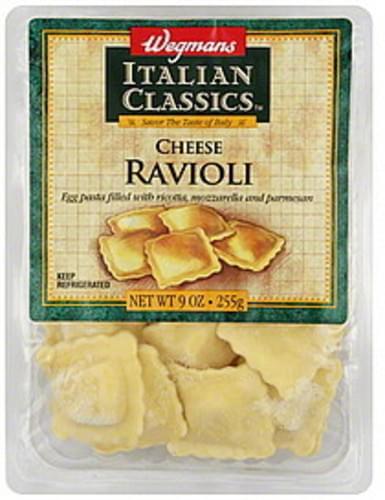 Wegmans Cheese Ravioli - 9 oz