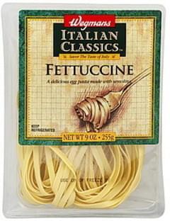 Wegmans Fettuccine